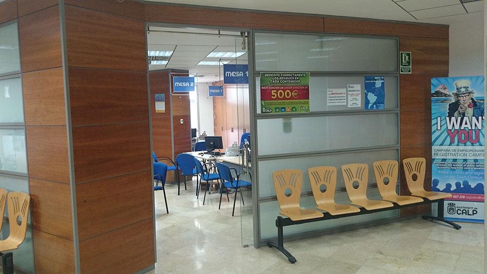 Oficina de atenci n al ciudadano ayuntamiento de calp for Oficina consumidor valencia